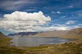 View on Dynjandisvogur fjord - Iceland — Stock Photo