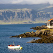 Djupivogur - Icelandic fishing town. — Stock Photo