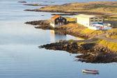 Icelandic fishing town - Djupivogur — Stock Photo