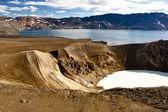 Vitio and Oskjuvatn lakes - Iceland — Stock Photo