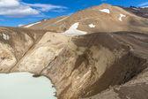 Geothermal Vitio lake - Iceland — Stock Photo