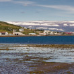 View on Isafjordur town — Stock Photo