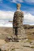 Big stony statue - Iceland — Stock Photo