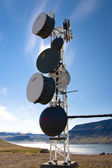 Cell antenas - Iceland — Stock Photo