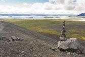 Myvatn landscape - Iceland — Stock Photo