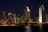 San Diego at night — Stock Photo