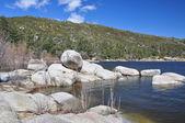 Litorale roccioso — Foto Stock