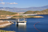 Diamond valley jezero dam — Stock fotografie