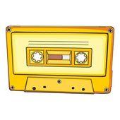аудио кассета — Cтоковый вектор