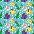 Seamless pattern car crash — Imagen vectorial