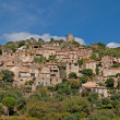 Stock Photo: Typical little village in languedoc