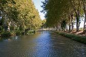 Canal du Midi - Languedoc — Stock Photo