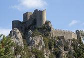 Castillo puilaurens — Foto de Stock