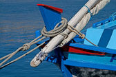 Details of a fishing boat — Stock Photo