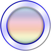 Round icon button template — Stock Photo
