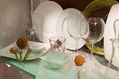 Exclusive tableware — Stock Photo