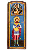 Saint Eugene Militinsky orthodox icon — Stock Photo