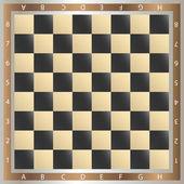 チェスのテーブル — ストックベクタ