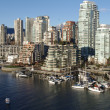 View from Granville bridge — Stok Fotoğraf #5361532