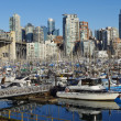 View from Granville Island - Stock Photo