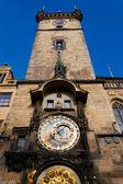 Praga astronomiczny zegar - prague orloj — Zdjęcie stockowe