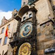 Fascinating very old Prague Astronomical Clock -Prague Orloj — Stock Photo #4138924