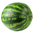 Stock Photo: Studio shot of flawless whole watermelon isolated on pure whit