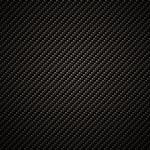 Carbon fiber background, black texture — Stock Photo
