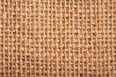 Close-up of natural burlap hessian sacking. Background texture u — Stock Photo