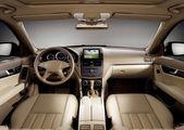 Modern business car — Stock Photo