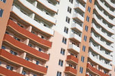 Multi-apartments building. Apartment Block — Stock Photo