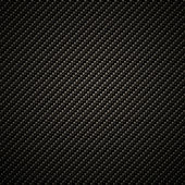 Carbon fiber background, black texture — Stock Photo