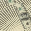 Background with money american hundred dollar bills — Stock Photo #4841096