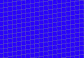 Chain Fence. Steel grid isolated on 255 blue — Stock Photo