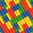 Stock Photo: Lego background