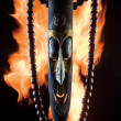 Fire idol. - Stock Photo