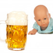 Royalty-Free Stock Photo: Alcohol and children