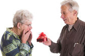 Valentine surprise — Stock Photo