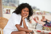 Gorgeous girl relaxing — Stock Photo