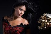 Bewitching sorceress — Stock Photo