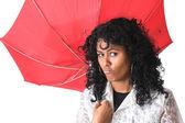 Broken umbrella — Stock Photo