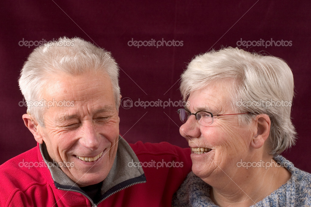 Senior couple happy together — Stock Photo #4104781