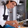 Stock Photo: Happy chef