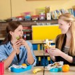 Healthy school lunch — Stock Photo