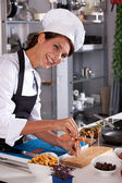 Happy chef — Stock Photo