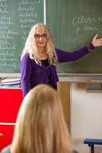 Enseignant expliquant — Photo