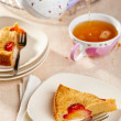 Stock Photo: Plum cake