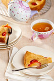 Plum cake — Stock Photo