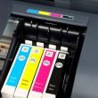 Stock Photo: Printer ink