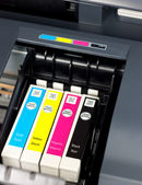 Printer ink — Stock Photo
